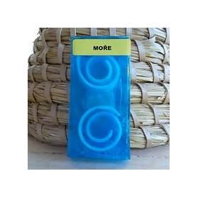 Ručně vyrobené mýdlo se spirálkami - moře