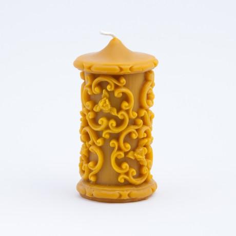 Svíčka ze včelího vosku - největší
