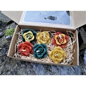 Sada plovoucích růží - 6 kusů